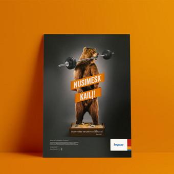 Grafikos dizaineris / Justas Samalius / Darbų pavyzdys ID 418543