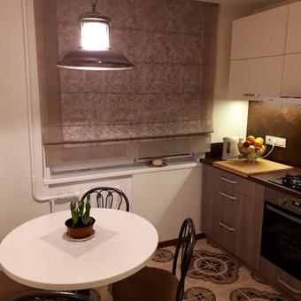 Virtuvės baldai daugiabutyje.