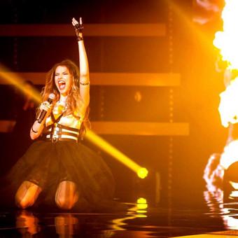 Muzikantė, atlikėja, profesionali dainininkė Kathrin Kulik / Kathrin Kulik / Darbų pavyzdys ID 64743