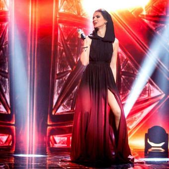 Muzikantė, atlikėja, profesionali dainininkė Kathrin Kulik / Kathrin Kulik / Darbų pavyzdys ID 64746