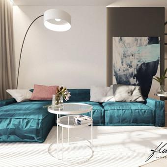 Interjero projektavimas / Flamingo interjero namai / Darbų pavyzdys ID 421307