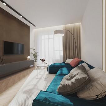 Interjero projektavimas / Flamingo interjero namai / Darbų pavyzdys ID 421313