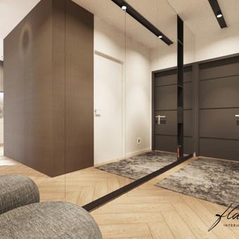 Interjero projektavimas / Flamingo interjero namai / Darbų pavyzdys ID 421315