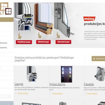 Profesionalių svetainių kūrimas nuo 300 / Ernestas / Darbų pavyzdys ID 421457