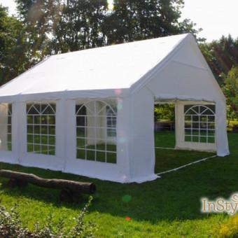 Palapinių, paviljonų ir papildomo inventoriaus nuoma / Paviljonų palapinių nuoma / Darbų pavyzdys ID 422277
