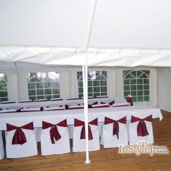 Palapinių, paviljonų ir papildomo inventoriaus nuoma / Paviljonų palapinių nuoma / Darbų pavyzdys ID 422307