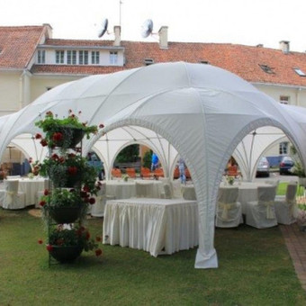 PAVILJONŲ, baldų, apšvietimo, dekoracijų nuoma  Jūsų šventei / VIP paviljonai / Darbų pavyzdys ID 422529