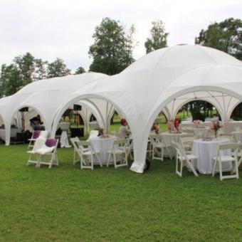 PAVILJONŲ, baldų, apšvietimo, dekoracijų nuoma  Jūsų šventei / VIP paviljonai / Darbų pavyzdys ID 422535