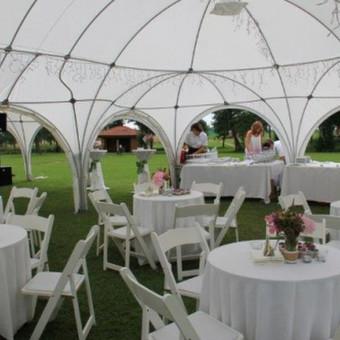 PAVILJONŲ, baldų, apšvietimo, dekoracijų nuoma  Jūsų šventei / VIP paviljonai / Darbų pavyzdys ID 422537