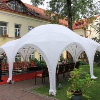 PAVILJONŲ, baldų, apšvietimo, dekoracijų nuoma  Jūsų šventei / VIP paviljonai / Darbų pavyzdys ID 422541