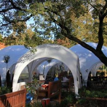 PAVILJONŲ, baldų, apšvietimo, dekoracijų nuoma  Jūsų šventei / VIP paviljonai / Darbų pavyzdys ID 422545