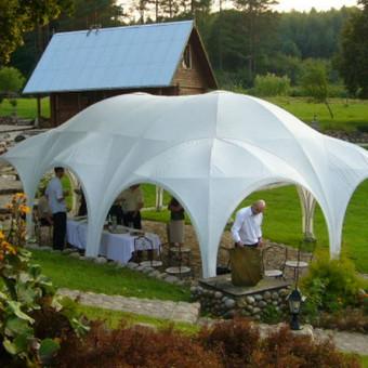 PAVILJONŲ, baldų, apšvietimo, dekoracijų nuoma  Jūsų šventei / VIP paviljonai / Darbų pavyzdys ID 422551