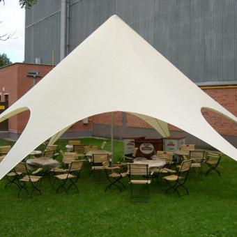 PAVILJONŲ, baldų, apšvietimo, dekoracijų nuoma  Jūsų šventei / VIP paviljonai / Darbų pavyzdys ID 422559