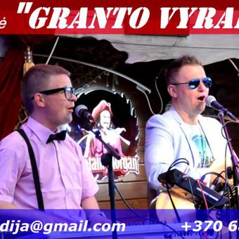 Muzikantai. Vedėjas. Dj -VISKAS VIENAME. + Kalėdų senelis :) / Linksmų muzikantų grupė -Granto Vyrai, Rugiag / Darbų pavyzdys ID 423107