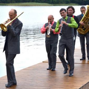"""Profesionalūs ir linksmi muzikantai iš diksilendo SWEETBAND / Diksilendas """"Sweetband"""" / Darbų pavyzdys ID 423321"""
