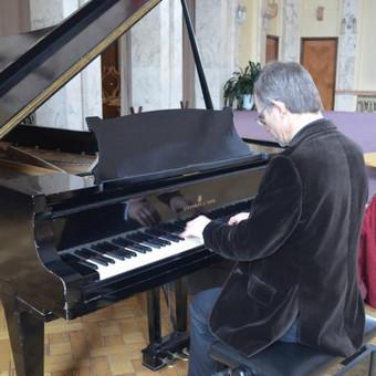 Gyva solo akordeono ir (ar) pianino muzika / Relax / Darbų pavyzdys ID 423539