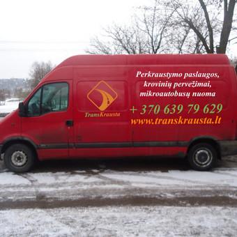 Perkraustymo paslaugos / MB Transkrausta / Darbų pavyzdys ID 424429