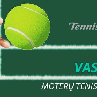 Grupinės moterų lauko teniso treniruotės Vilniuje / Juste Kubiliute / Darbų pavyzdys ID 425293