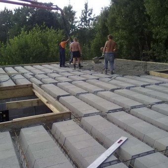 Namų statyba nuo 350 eur / 1m2 su medžiagomis / Ruslanas / Darbų pavyzdys ID 425775