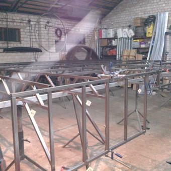Metalo gaminiai, konstrukcijos, dekoracijos, skulptūros. / Linas / Darbų pavyzdys ID 426413