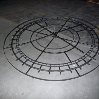 Metalo gaminiai, konstrukcijos, dekoracijos, skulptūros. / Linas / Darbų pavyzdys ID 426415