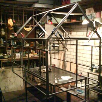 Metalo gaminiai, konstrukcijos, dekoracijos, skulptūros. / Linas / Darbų pavyzdys ID 426417