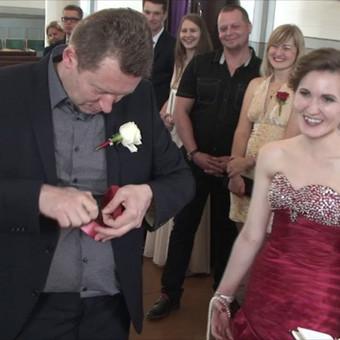 Vestuviu filmavimas Šiauliuose  ,video operatorius ,klipai / Raimundas Kasperavičius / Darbų pavyzdys ID 426549