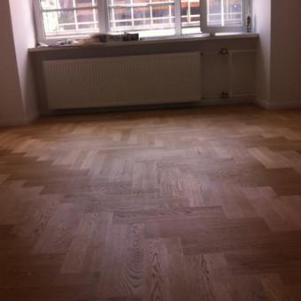 Darbai su medinėmis grindimis: klojimas, šlifavimas... / Rolandas / Darbų pavyzdys ID 426629