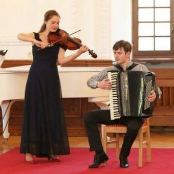 """Muzikinis duetas """"Tutto a Dio"""" / Muzikinis ansamblis """"Tutto a Dio"""" / Darbų pavyzdys ID 427617"""