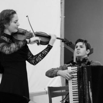 """Muzikinis duetas """"Tutto a Dio"""" / Muzikinis ansamblis """"Tutto a Dio"""" / Darbų pavyzdys ID 427621"""