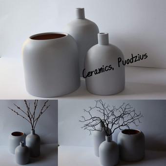 Keramikiniu gamyniu gamyba, glazuruoti gaminiai / Gintaras Dabasinskas / Darbų pavyzdys ID 428755