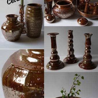 Keramikiniu gamyniu gamyba, glazuruoti gaminiai / Gintaras Dabasinskas / Darbų pavyzdys ID 428757