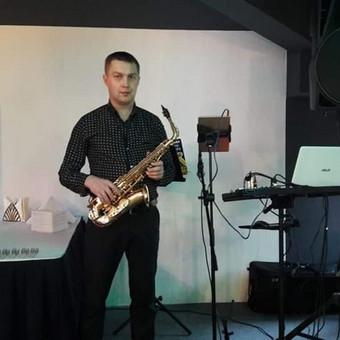 Saksofono muzika + DJ Jūsų šventiniam vakarui... / Saksofono muzika Jūsų šventiniam vakarui... / Darbų pavyzdys ID 428917