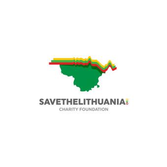 Save The Lithuania - Charity Foundation      Logotipų kūrimas - www.glogo.eu - logo creation.