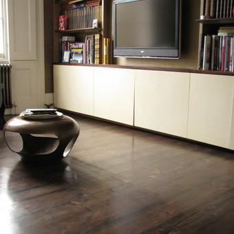 Klojame parketą, parketlentes, laminuotas grindis. / Tomas Kasiulynas / Darbų pavyzdys ID 429659