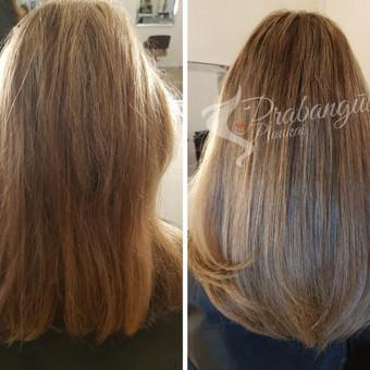 """Ekskliuzyvių plaukų priauginimas ir prisegami plaukai / UAB """"Prabangūs plaukai"""" / Darbų pavyzdys ID 430179"""