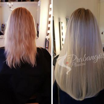 """Ekskliuzyvių plaukų priauginimas ir prisegami plaukai / UAB """"Prabangūs plaukai"""" / Darbų pavyzdys ID 430181"""