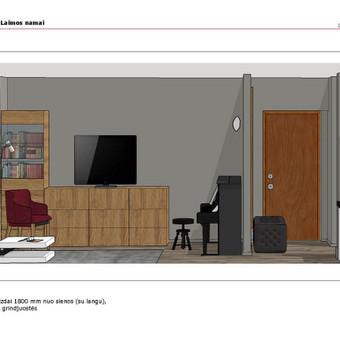 Interjerai komfortiškam gyvenimui / Julija Piekienė / Darbų pavyzdys ID 430433