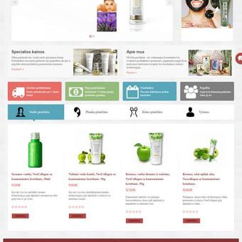 Internetinių svetainių | El-parduotuvių kūrimas Jūsų mieste / Jonas Urbonas / Darbų pavyzdys ID 431187