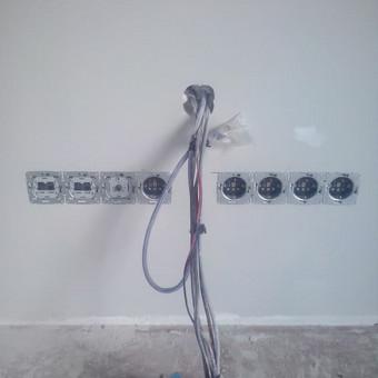Alytus.Elektros instaliacijos darbai. / Rimas / Darbų pavyzdys ID 432087