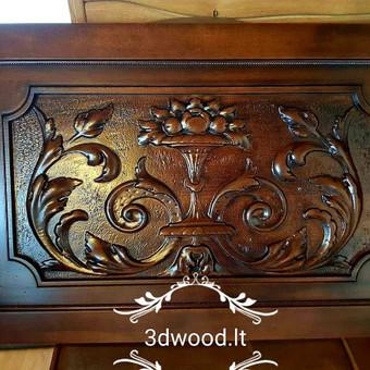 2D, 3D ir 4D frezavimas, 3D skenavimas / 3D Group EU, 3D Wood / Darbų pavyzdys ID 432317