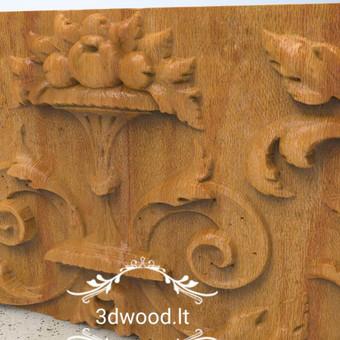 2D, 3D ir 4D frezavimas, 3D skenavimas / 3D Group EU, 3D Wood / Darbų pavyzdys ID 432319
