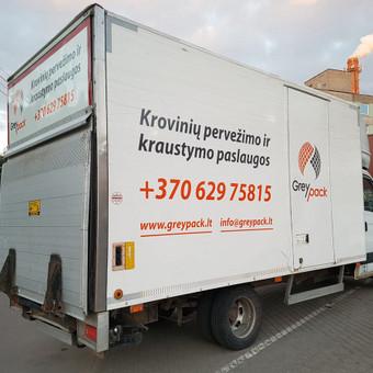 GreyPack - transporto įmonė / GreyPack / Darbų pavyzdys ID 434359