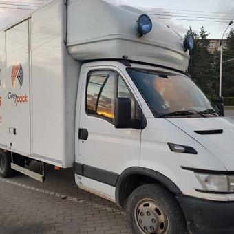 GreyPack - transporto įmonė / GreyPack / Darbų pavyzdys ID 434361