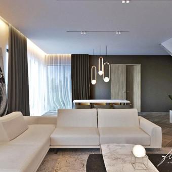 Interjero projektavimas / Flamingo interjero namai / Darbų pavyzdys ID 442805