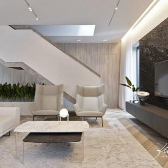 Interjero projektavimas / Flamingo interjero namai / Darbų pavyzdys ID 442807