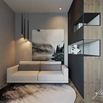Interjero projektavimas / Flamingo interjero namai / Darbų pavyzdys ID 442811