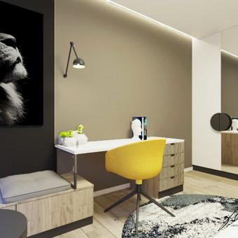 Interjero projektavimas / Flamingo interjero namai / Darbų pavyzdys ID 443479