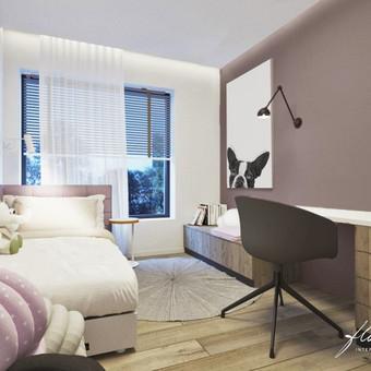 Interjero projektavimas / Flamingo interjero namai / Darbų pavyzdys ID 443481