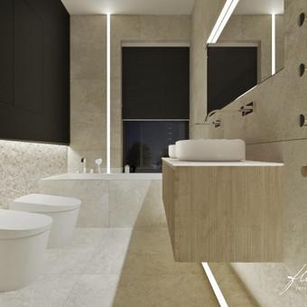 Interjero projektavimas / Flamingo interjero namai / Darbų pavyzdys ID 443485